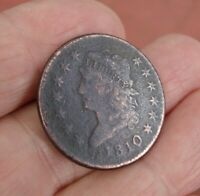 1810 CLASSIC LIBERTY HEAD ONE CENT - LARGE PENNY COIN