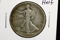 1917 50C WALKING LIBERTY HALF DOLLAR GOOD