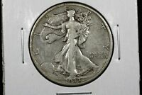 1933 S WALKING LIBERTY HALF VF