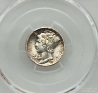 1916 10C MERCURY DIME PCGS MS 65 FB