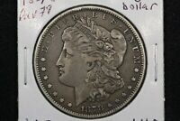 1878 7 TF REV 79 MORGAN DOLLAR FINE