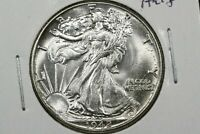 1942 WALKING LIBERTY HALF FLASHY BU