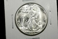 1945 D WALKING LIBERTY HALF DOLLAR CHOICE BU
