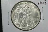 1945 WALKING LIBERTY HALF CHOICE BU