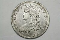 1832 CAPPED BUST HALF O 105A R3 CHOICE XF/AU