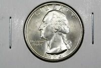 1934 WASHINGTON QUARTER CHOICE BU