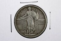 1917 TYPE I STANDING LIBERTY QUARTER VF