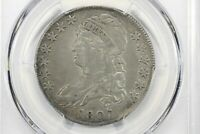 1807 CAPPED BUST HALF DOLLAR LARGE STARS 50/20 PCGS VF 20