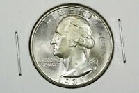 1939 WASHINGTON QUARTER NEAR GEM BU