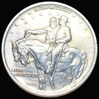 1925 STONE MOUNTAIN HALF DOLLAR APPEARS UNCIRCULATED PHILLY