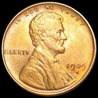 1909 S LINCOLN WHEAT PENNY APPEARS UNCIRCULATED SAN FRAN MS
