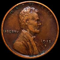 1915 S LINCOLN WHEAT PENNY NEARLY UNCIRCULATED SAN FRANCISCO