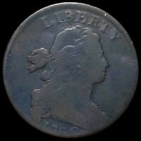 1798 DRAPED BUST LARGE CENT NICELY CIRCULATED PHILADELPHIA K