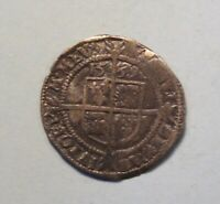 1569 GREAT BRITAIN 3 PENCE SILVER ENGLISH COIN UK QUEEN ELIZABETH I ENGLAND