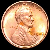 1909 V.D.B. LINCOLN WHEAT PENNY APPEARS UNCIRCULATED PHILLY