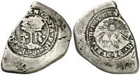 COSTA RICA SILVER 1 REAL    1846    COUNTERMARK BOTH SIDES      TYPE     M3