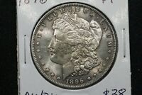 1896 MORGAN DOLLAR AU/BU
