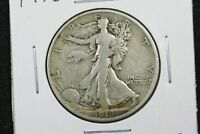 1918 S WALKING LIBERTY HALF FINE