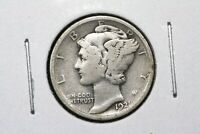 1921 MERCURY DIME GOOD 1