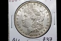 1880 MORGAN DOLLAR AU