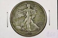 1918 S WALKING LIBERTY HALF CHOICE FINE