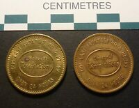 BRASS AND BRONZE TYPES: SHOPPE OF TEMPTATIONS I 94   AMUSEMENT TOKENS