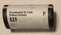 2013 P MCKINLEY PHILADELPHIA ORIGINAL US MINT WRAPPING ROLL 25 COINS CP8402