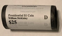 2013 D MCKINLEY DENVER ORIGINAL US MINT WRAPPING ROLL 25 COINS CP8403