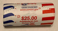 2009 D ZACHARY TAYLOR ORIGINAL US MINT DENVER WRAPPING ROLL CP8408