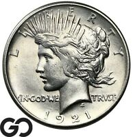 1921 PEACE DOLLAR KEY DATE FIRST YEAR ISSUE