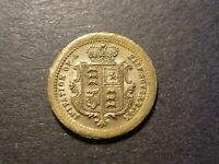 MODEL VICTORIAN HALF SOVEREIGN UNCIRCULATED BRASS JOHN COOK AND SONS