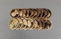 2008-S PROOF ANDREW JACKSON PRESIDENTIAL DOLLAR ROLL 20 COINS