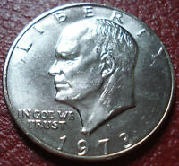 1973-D IKE DOLLAR IN UNCIRCULATED CONDITION