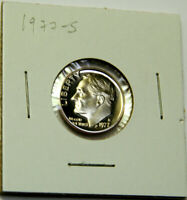 1977-S PROOF ROOSEVELT DIME FROM US PROOF SET -GEM PROOF DIME