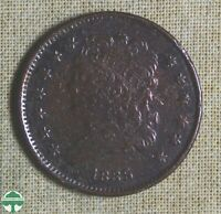 1835 CLASSIC HEAD HALF CENT   PITTED   GOOD DETAILS