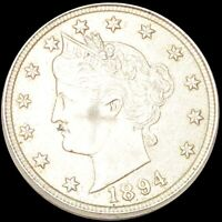 1894 LIBERTY VICTORY NICKEL CLOSELY UNCIRCULATED PHILADELPHI