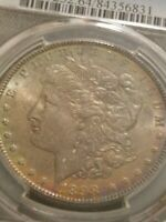 1898 P MORGAN SILVER DOLLAR, PCGS MINT STATE 64  PRIZED COIN  GRADING SERVICE