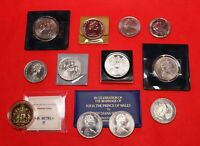 COLLECTION OF BRITISH COMMEMORATIVE COINS