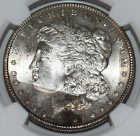 1885-P MORGAN SILVER DOLLAR $1 NGC MINT STATE 64