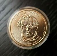 ZACHARY TAYLOR PRESIDENTIAL DOLLAR COIN ROLL OF 12 UNCIRCULATED DANBURY MINT
