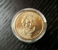 ANDREW JACKSON PRESIDENTIAL DOLLAR COIN ROLL OF 12 UNCIRCULATED DANBURY MINT