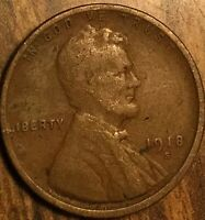 1918 USA LINCOLN WHEAT SMALL CENT PENNY