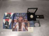 75TH ANIV OF VE DAY 2020 BUNDLE SET SILVER AND GOLD