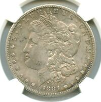 1884-S MORGAN DOLLAR, NGC EXTRA FINE  DETAILS, BETTER DATE IN GRADE