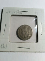 1868  NICKEL THREE CENT COIN IN VERY GOOD CONDITION