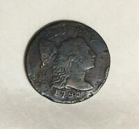 1795 LARGE CENT FOUND IN COLONIAL ST MARY'S CITY MARYLAND FR