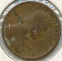USA 1918 AMERICAN ONE CENT PENNY 1C EXACT COIN