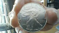 2020 SILVER EAGLE MINT SEALED TUBE   20 COINS