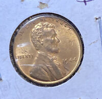 1944-P LINCOLN WHEAT 1C  MOSTLY RED GEM BU GREAT VALUE  B39
