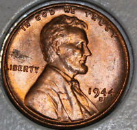 1944-S WHEAT CENT UNCIRCULATED RED [SN16]